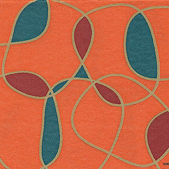Serviette jetable Paviot motif graphiques