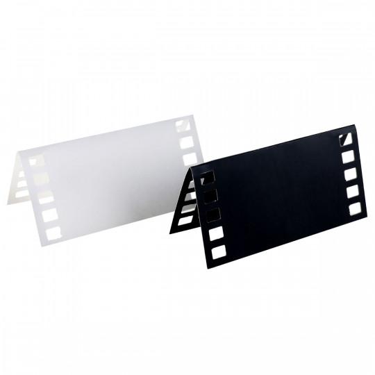 Marque place cinéma noir et blanc
