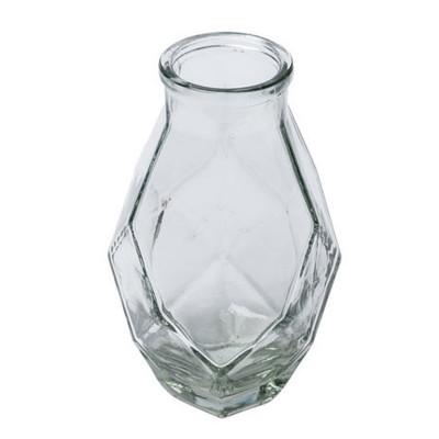 Vase verre origami 16 cm x 8.5 cm