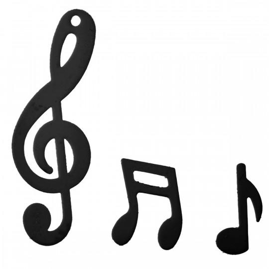 Sachet confettis de notes de musique