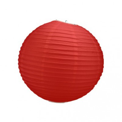 Boule japonaise rouge