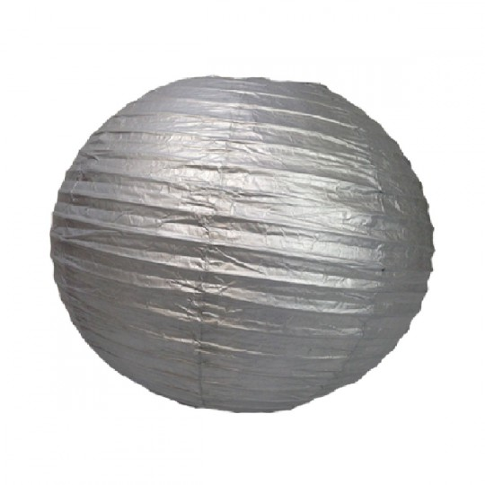 Boule japonaise argentée