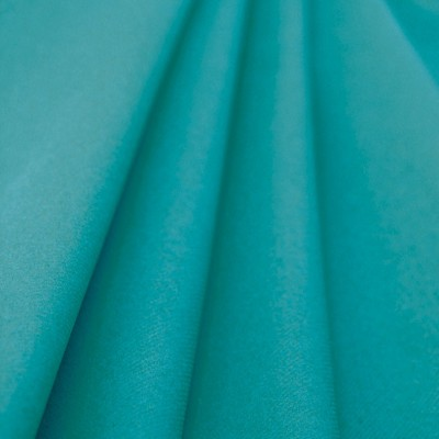 Nappe bleu turquoise ronde jetable