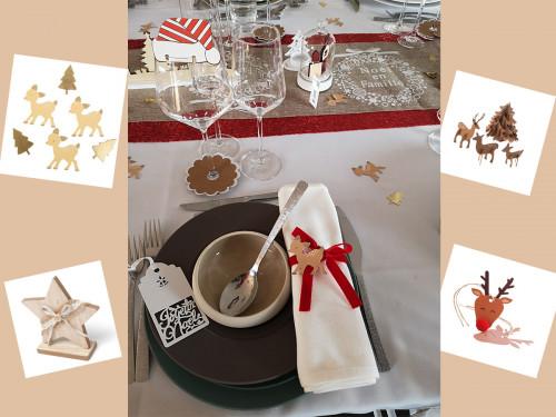Il est l'heure de se préparer pour Noël! -10% ou -20% sur vos achats décoration.
